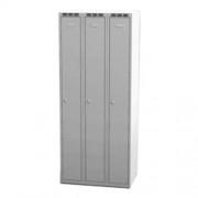 Šatní skříň š 750 mm - šedá