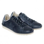 COM California Leather Sneakers, 9 - Navy