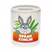 Bellatio Decorations Spaarpot van de spaar konijn Bunny 9 cm