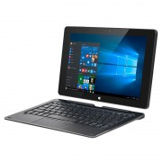 Tableta cu Tastatura Kruger Matz Edge Windows 10, 10.1 inch, 2 GB Ram DDR2, memorie 32 Gb