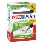 tesafilm Kancelárska páska INVISIBLE, neviditeľná, v krabičke, 10m x 19mm 57335-00001-00