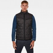 G-star RAW Hommes Veste Attacc Heatseal Quilted Noir