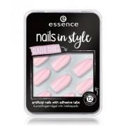essence Nails In Style Glazed Nudes Sztuczne paznokcie no_color