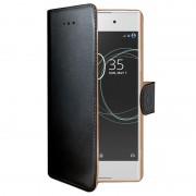 Capa tipo Carteira Celly Wally para Sony Xperia XA1 - Preto