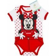 Body bebelusi Minnie Mouse rosu fete 74 cm