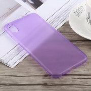 0.3mm Ultra-thin Frosted PP Case for iPhone XS Max (Purple)
