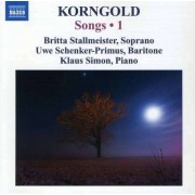 E.W. Korngold - Complete Songs Vol.1 (0747313202775) (1 CD)