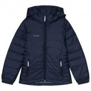 Bergans Rena Youth Vindbrytande Dunjacka Dark Navy 140 cm (9-10 år)