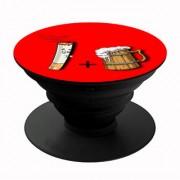 Homeeware Phone holder Mobile Holder Plastic Red