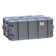Njs 4u Abs 19inch Flightcase Equipment Short Rack Case DJ Band PA