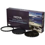 Hoya 58mm Filter Kit C-Pl UV NDX 8 Normal Filter