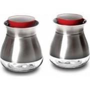 Set de recipiente Nava 2 piese sticla si metal