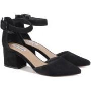 Steve Madden Women BLACK SUEDE Heels