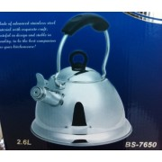 Ceainic cu fluier Barton Steel BS 7650