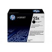 HP Cartucho de tóner Original HP 55X de alta capacidad Negro para HP LaserJet empresarial P3015, P3015d, P3015dn, P3015x e multifunción HP LaserJet...