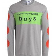 Comme des Garçons Shirt T-Shirt Comme des Garçons Shirt Boys grigia verde rossa