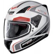 Nolan N60-5 Practice Capacete Preto Branco Vermelho XL