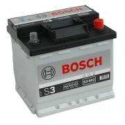 Bosch S3 12V 45Ah 400A Jobb+ autó akkumulátor