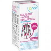 Sanon Licaon sanon colageno + acido hialuronico, 60 un