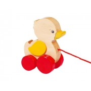 Goki Duck Ellah Pull Along Toy