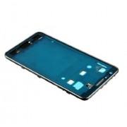 Frame ou carcaça intermédia Samsung Galaxy SII S2 i9100 silver
