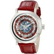 Marvel white4719 Marvel Men's W002544 Captain America Analog Display Analog Quartz Red Watch Watch - For Men