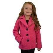 Dívčí kabát do pasu
