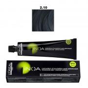 Vopsea permanenta fara amoniac L`Oreal Professionnel Inoa 2.10, 60ml