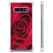 Samsung Galaxy S10 Hybride Case - Roos