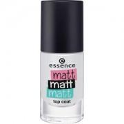 Essence Nails Nail polish Matt Matt Matt Top Coat No. 37 Matt To Meet You 8 ml