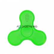 Fidget Spinner Led si Bluetooth Verde