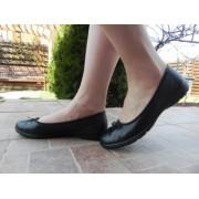 Pantof femei Alpina ,model OP 08-A , piele naturala, negru