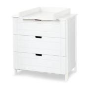 Klups Iwo komód - fehér