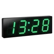 Velké svítící digitální moderní hodiny JVD DH1.3 se zelenými číslicemi