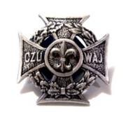 Krzyż Harcerski metalowy