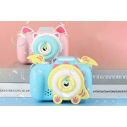 Hangzhou Yuxi Trade Co. Ltd (t/a PinkPree) Animal Bubble-Blowing Camera - With Lights & Music!