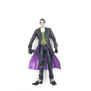 7 Inches The Dark Knight Joker Heath Ledger Action Figure ~Very Highly Detailed~ Holding A Gun ~Suicide Squad- Batman - Villian