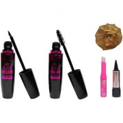 ADS Eyeliner Mascara kajal Pink Lip and Band