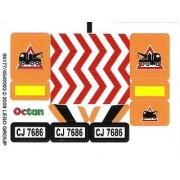 """Lego Original Sticker for City Set #7686 """"Helicopter Transporter"""""""