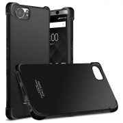 Imak Anti-Risco Capa TPU para BlackBerry Keyone - Preto Metálico