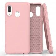 Husa Soft Silicon Gel pentru Samsung Galaxy A20e Roz