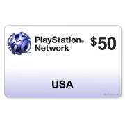 Sony PSN Card $50 - PlayStation Network nur US-Store