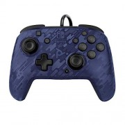 PDP Nintendo Switch Faceoff Deluxe+ Audio Wired Controller Blue Camo, 500-134-NA-CM02 Nintendo Switch