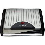 Skyline VT-5020 Sandwich Grill (Silver)