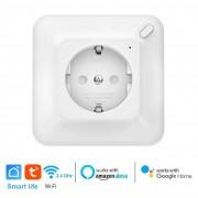 WiFi Контакт с Енергиен Мониторинг 16A 3680W