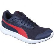 Puma Men'S Escaper Mesh Peacoat-Ribbon Red Red Sports Shoe