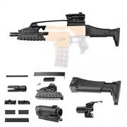 Tradico Worker XM8 Short Board Modify Set Part for Nerf N-Strike Elite Stryfe Retaliator Toys