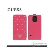 Cg Mobile Guess Tessi stojeća kožna futrola za Samsung SM-G900 Galaxy S V. ,ružičasta (GUFLS5STP)
