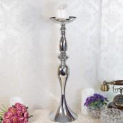 Sfesnic argintiu, suport lumanare sau floare