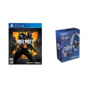 Call of Duty: Black Ops 4 Ps4 + PowerA Cargador Completo PS4